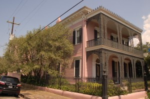 French painter Edgar Degas lived here during his stay In New Orleans.