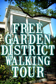 Free Garden District Walking Tour