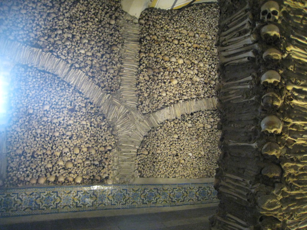 Ossuary in Evora, Portugal