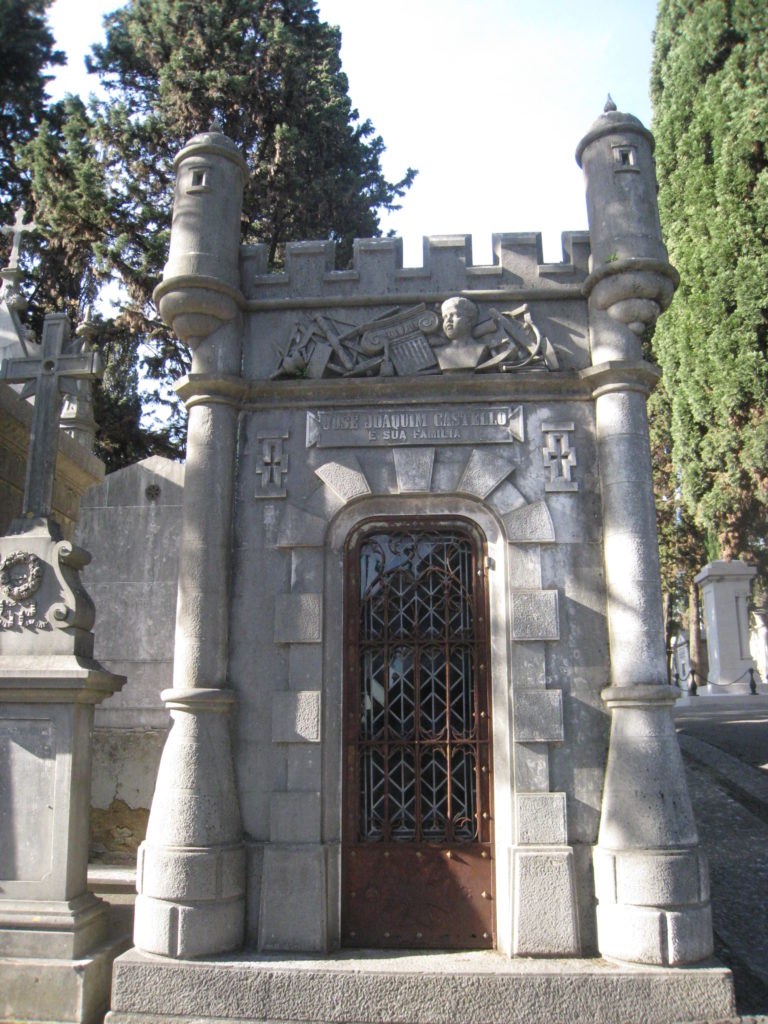 A romanesque tomb in Lisbon
