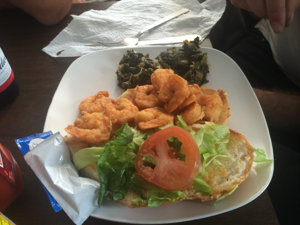 Shrimp Po-boy Kayla's
