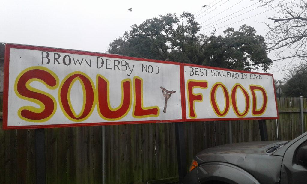 Soul Food SIgn